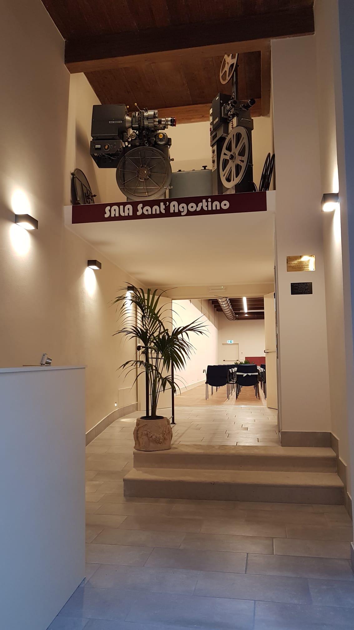 sala sant'agostino